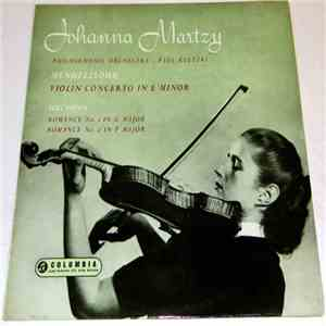 Johanna Martzy - Concerto In E Minor / Romance No. 1 In G Major / Romance No. 2 In F Major download mp3 flac